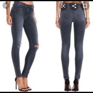 J Brand Skinny Distressed Jeans Size 27